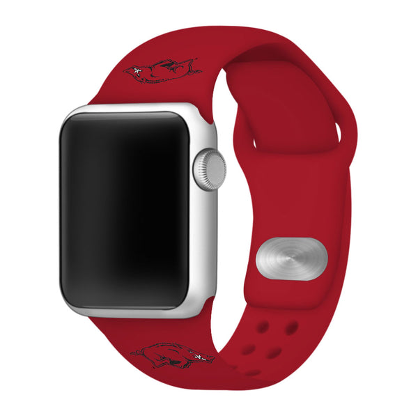 Arkansas Razorbacks Sport Band for Apple Watch - DealsAmazingDeals.com