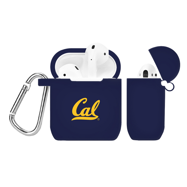 California Berkeley Golden Bears Silicone AirPod Case - DealsAmazingDeals.com