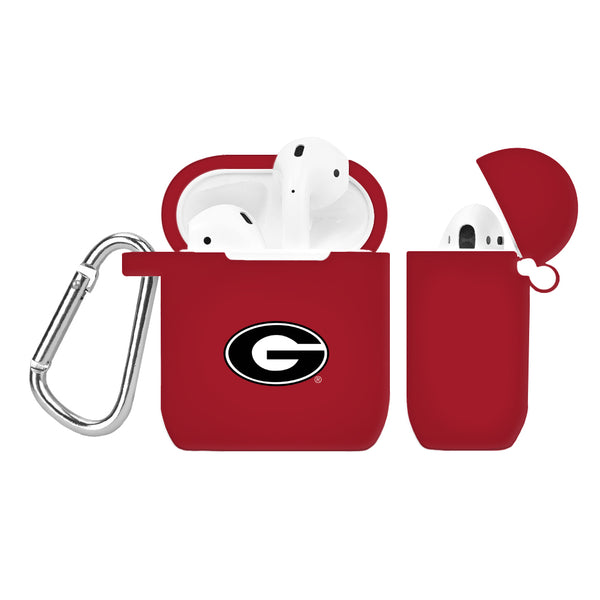 Georgia Bulldogs Silicone Case Cover for Apple AirPod Case - DealsAmazingDeals.com