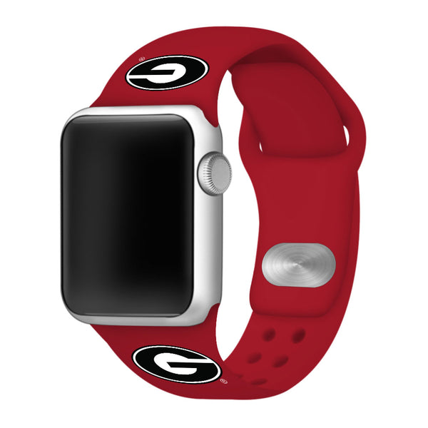 Georgia Bulldogs Sport Band for Apple Watch - DealsAmazingDeals.com
