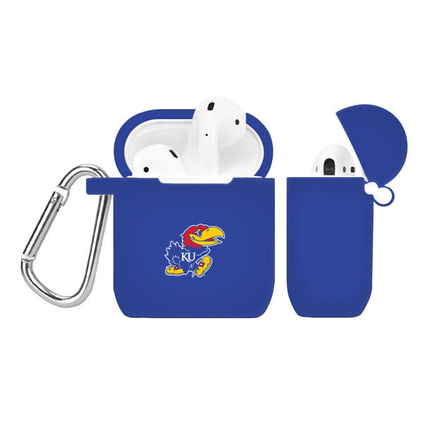 Kansas Jayhawks Silicone Case Cover for Apple AirPod Case