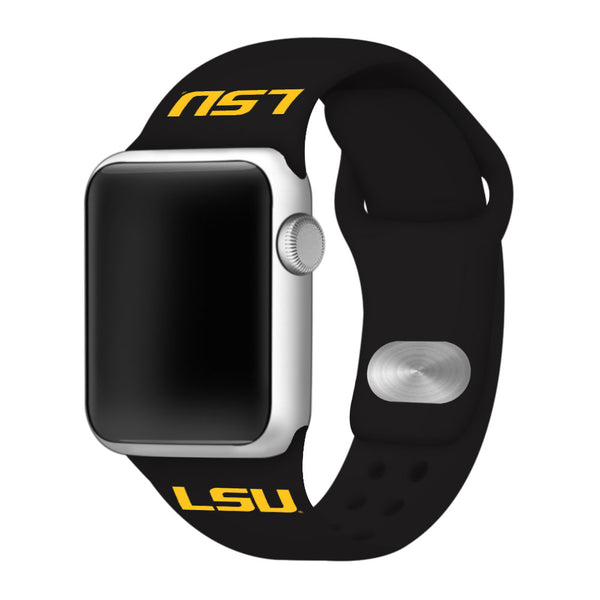 LSU Tigers Replacement Apple Watch Band - DealsAmazingDeals.com
