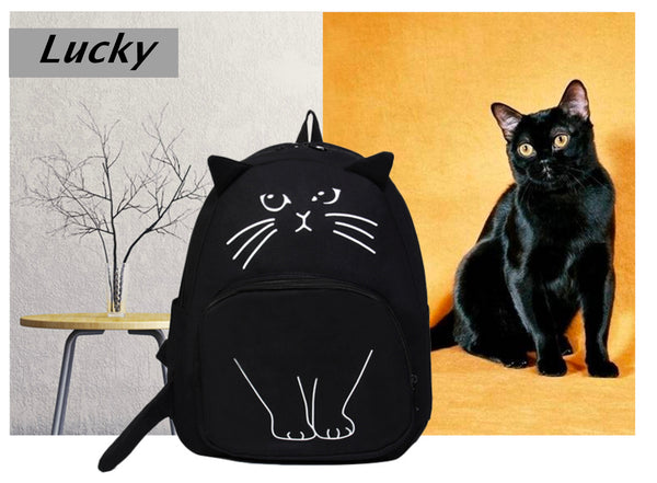 Lovely Cat Backpack - DealsAmazingDeals.com