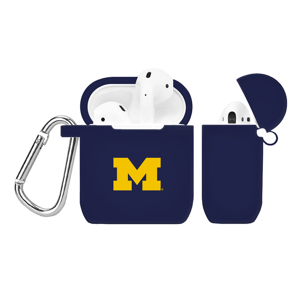 Michigan Wolverines Silicone Case Cover for Apple AirPod Case - DealsAmazingDeals.com