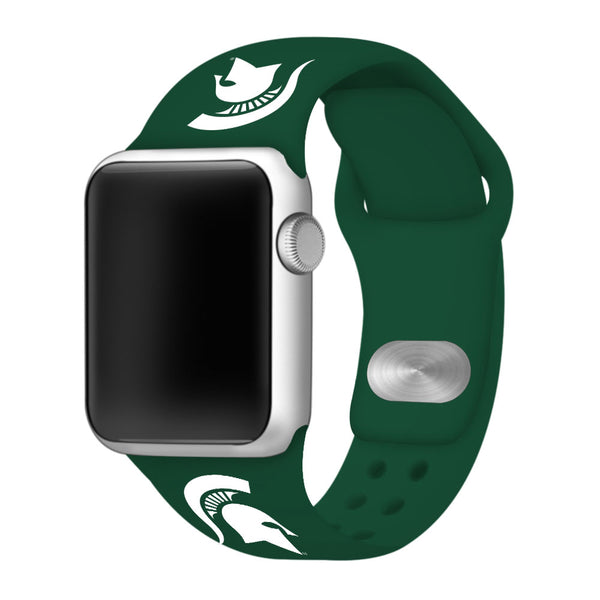 Michigan State Spartans Sport Band for Apple Watch - DealsAmazingDeals.com