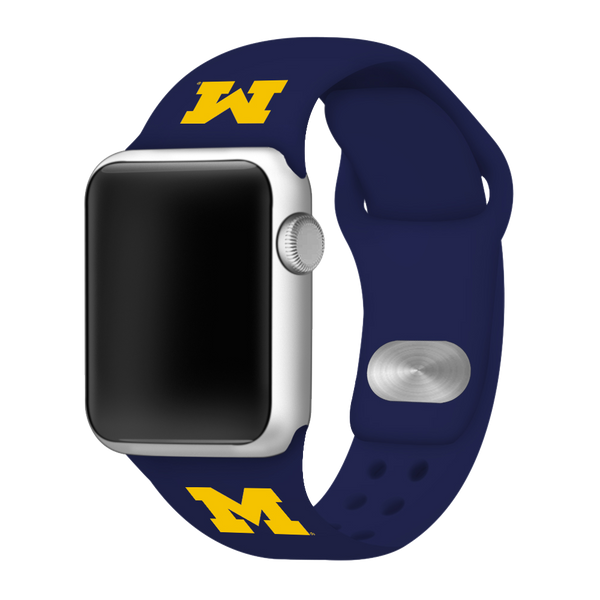 Michigan Wolverines Sport Band for Apple Watch - DealsAmazingDeals.com