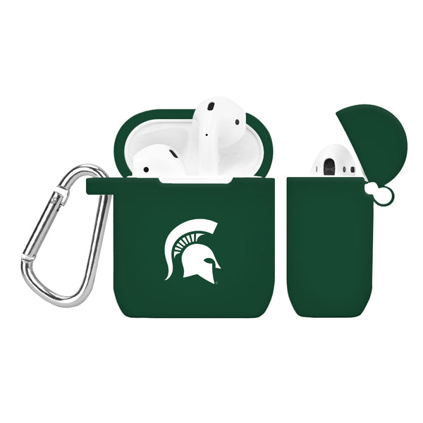 Michigan State Spartans Silicone Case Cover for Apple AirPod Case