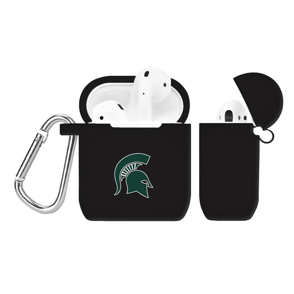Michigan State Spartans Silicone Case Cover for Apple AirPod Case - DealsAmazingDeals.com