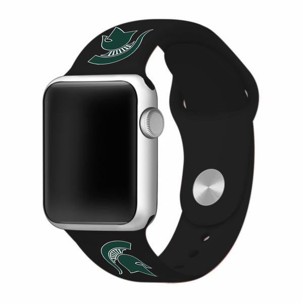 Michigan State University Spartans Replacement Apple Watch Band - DealsAmazingDeals.com