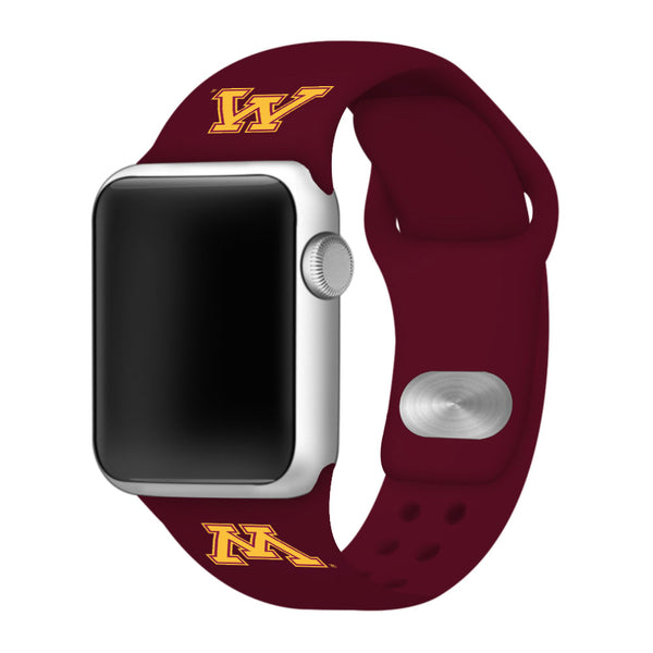 Minnesota Golden Gophers Silicone Sport Band Fits Apple Watch - DealsAmazingDeals.com