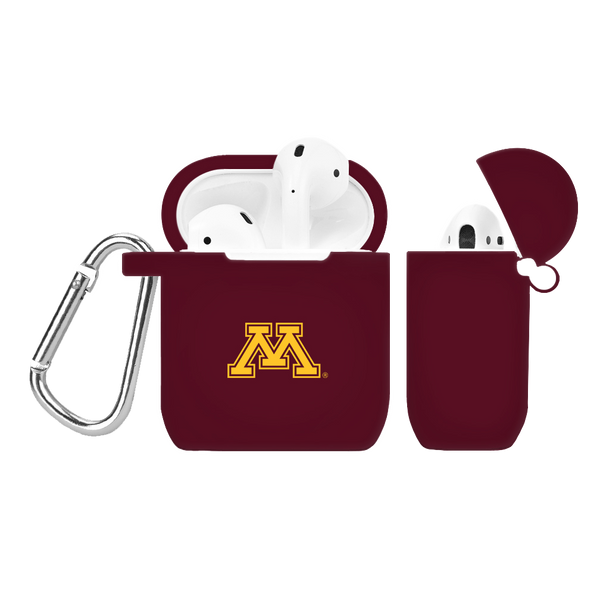 Minnesota Golden Gophers Silicone AirPod Case - DealsAmazingDeals.com