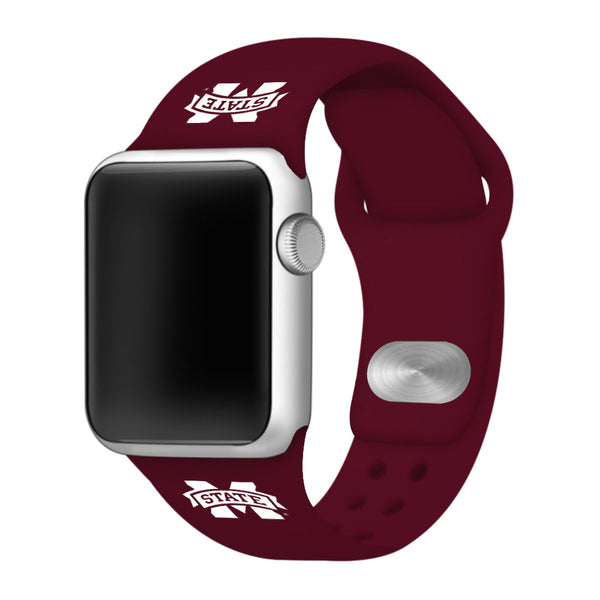 Mississippi State Bulldogs Replacement Apple Watch Band - DealsAmazingDeals.com
