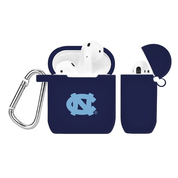 North Carolina Tar Heels Silicone Case Cover for Apple AirPod Case - Navy