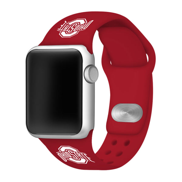 Ohio State Buckeyes Sport Band for Apple Watch - DealsAmazingDeals.com