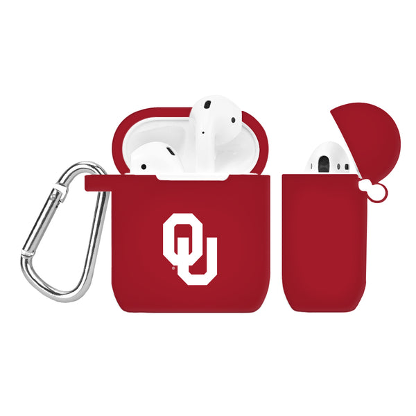 Oklahoma Sooners Silicone Case Cover for Apple AirPod Case