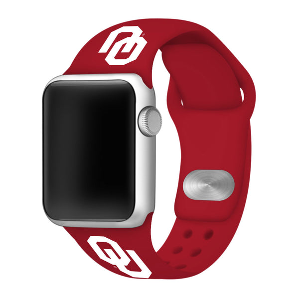 Oklahoma Sooners Sport Band for Apple Watch - DealsAmazingDeals.com