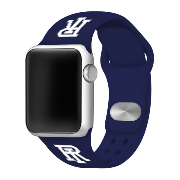 Rhode Island Rams Silicone Sport Band for Apple Watch