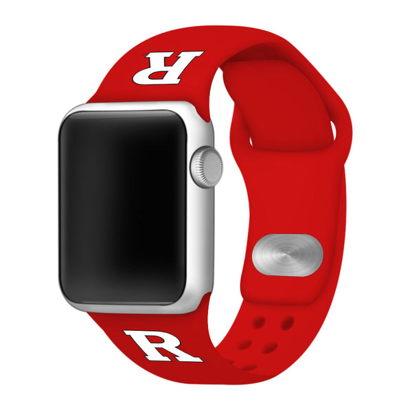 Rutgers Scarlet Knights Sport Band for Apple Watch - DealsAmazingDeals.com