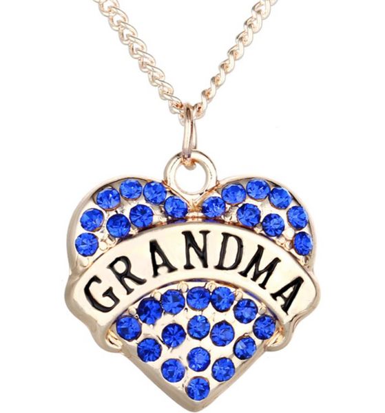 The Grandma Heart Necklace