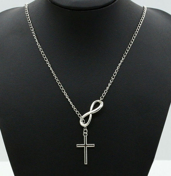 FREE Infinity Cross on a Silver Chain