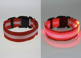 LED Glowing Dog or Cat Collar