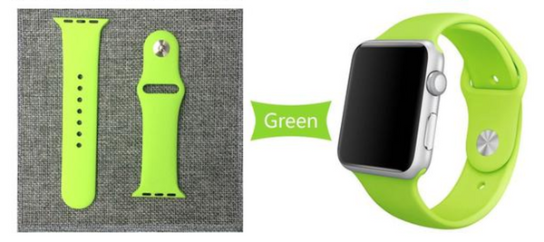 38mm and 42mm Sport Style Replacement Apple Watch Bands - DealsAmazingDeals.com