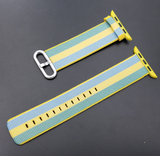 38mm and 42mm Woven Nylon Apple Watch Replacement Band - DealsAmazingDeals.com