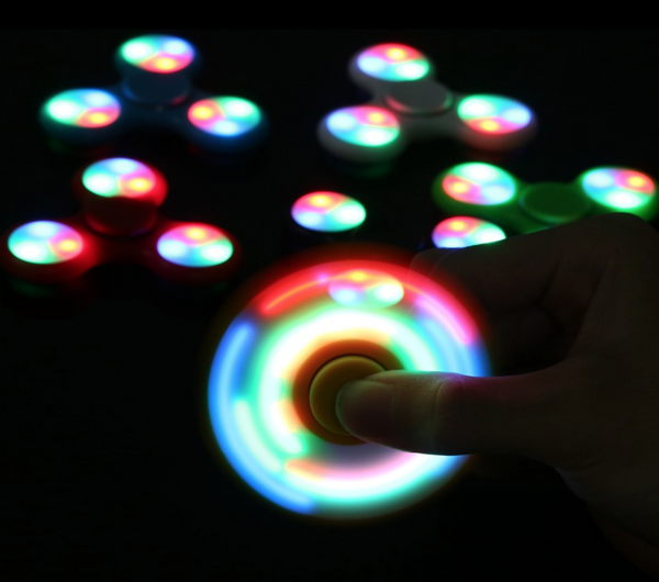 LED Lighted Fidget Spinner