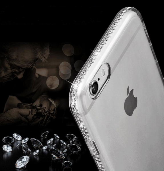 Rhinestone Diamond Iphone Case - DealsAmazingDeals.com