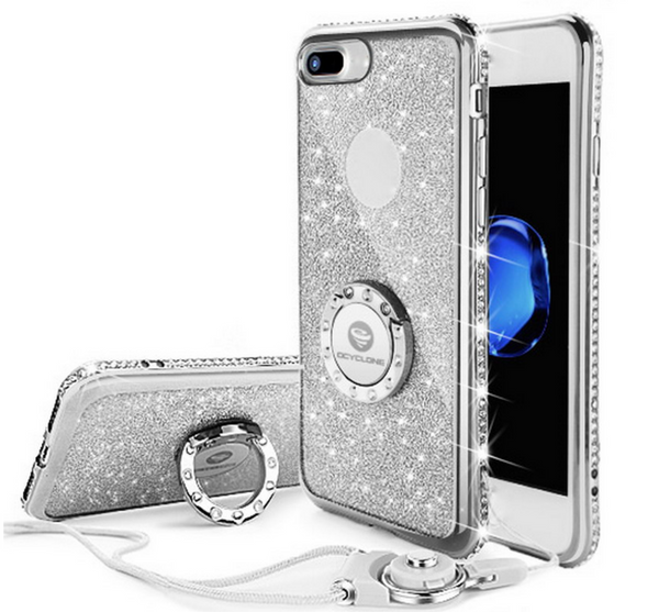Luxury Rhinestone Slim Design iPhone Case