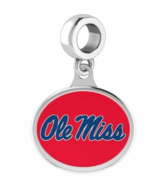 Ole Miss Drop Charm