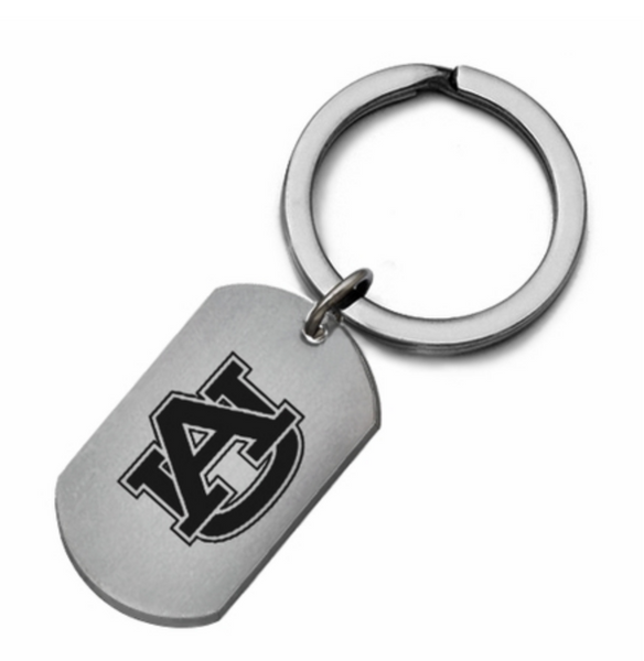 Auburn Tiger Stainless Steel Key Ring - DealsAmazingDeals.com