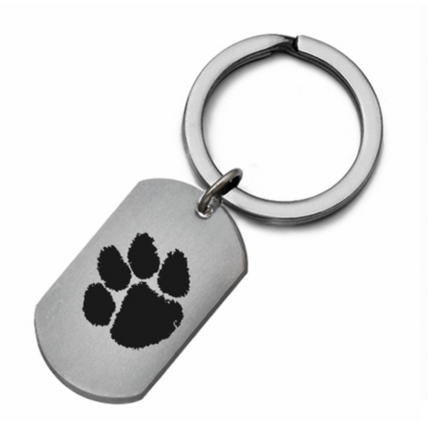 Clemson Tigers Stainless Steel Key Ring - DealsAmazingDeals.com