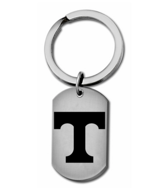 Tennessee Vols Stainless Steel Key Ring