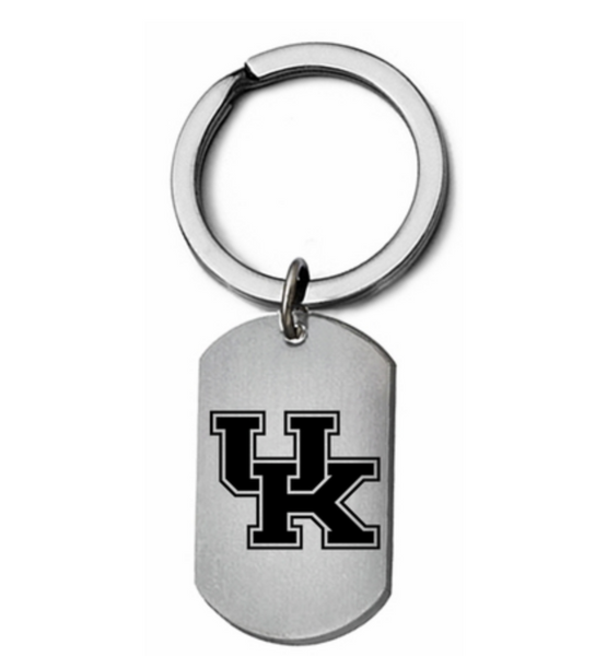 Kentucky Wildcats Stainless Steel Key Ring