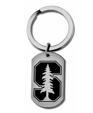 Stanford Cardinal Stainless Steel Key Ring - DealsAmazingDeals.com