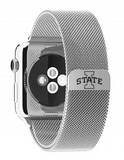 Iowa State Cyclones Stainless Steel Replacement Apple Watch Band