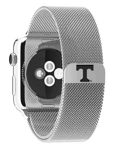 Tennessee Vols Stainless Steel Replacement Apple Watch Band - DealsAmazingDeals.com