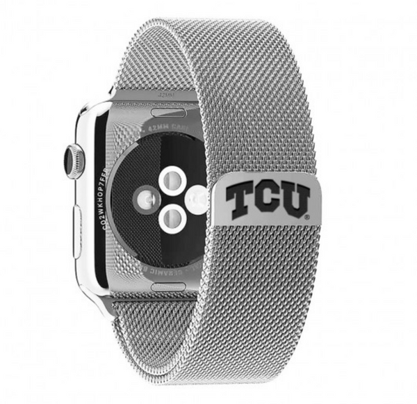 TCU Stainless Steel Replacement Apple Watch Band - DealsAmazingDeals.com