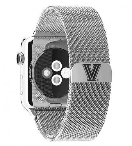 Villanova Stainless Steel Replacement Apple Watch Band - DealsAmazingDeals.com