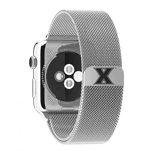 Xavier Musketeers Stainless Steel Replacement Apple Watch Band