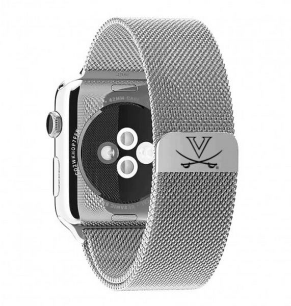 Virginia Cavaliers Stainless Steel Replacement Apple Watch Band