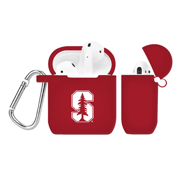 Stanford Cardinal Silicone AirPod Case