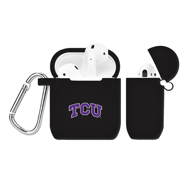 Texas Christian Horned Frogs Silicone AirPod Case