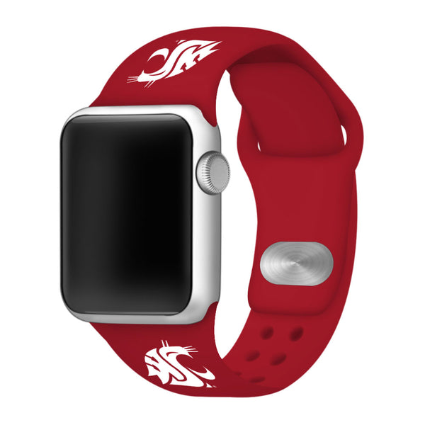 Washington State Cougars Sport Band for Apple Watch - DealsAmazingDeals.com