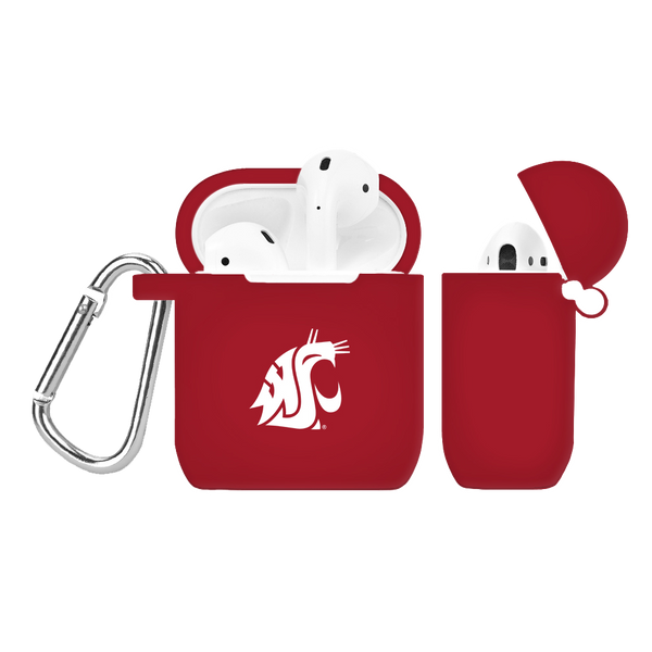 Washington State Cougars Silicone AirPod Case
