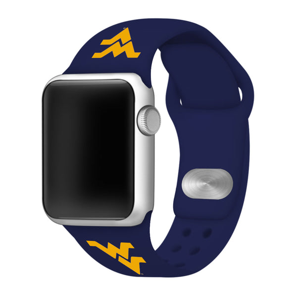 West Virginia Mountaineers Sport Band for Apple Watch - DealsAmazingDeals.com
