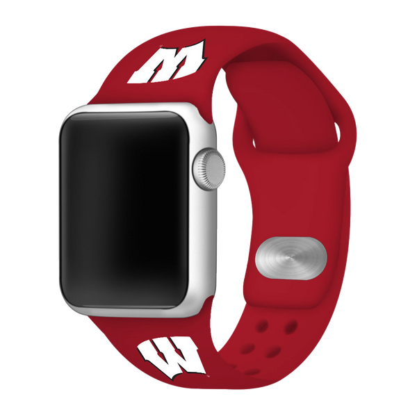 Wisconsin Badgers Replacement Apple Watch Band - DealsAmazingDeals.com