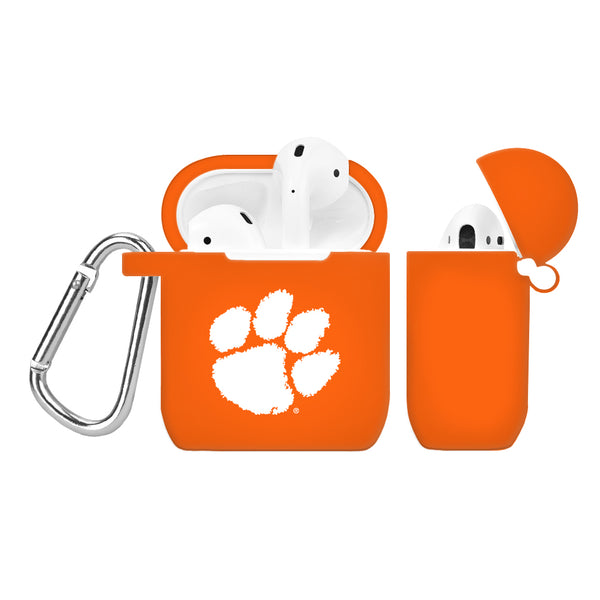 Clemson Tigers Silicone Case Cover for Apple AirPod Case - DealsAmazingDeals.com