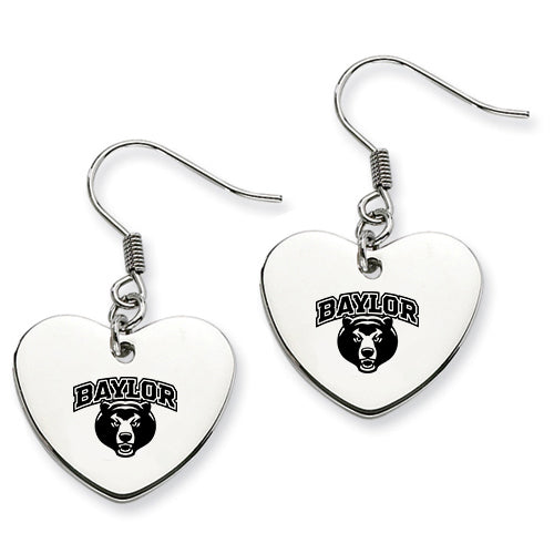 Baylor Stainless Steel Heart Earrings - DealsAmazingDeals.com
